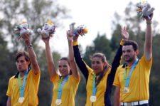 Equipo de golf de Colombia (cortesía www.coc.org