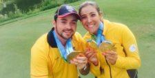 Los dos Oros en golf (cortesía www.elheraldo.co)