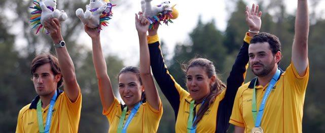 Colombia de Oro en el Golf Panamericano