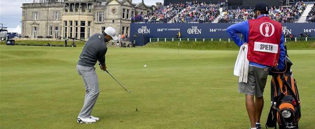 Contra viento y marea los gladiadores del golf definen lunes en St. Andrews