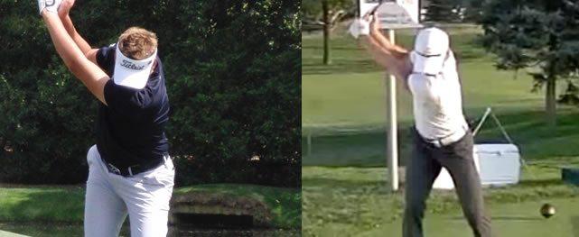 El tope del swing & rotación de caderas