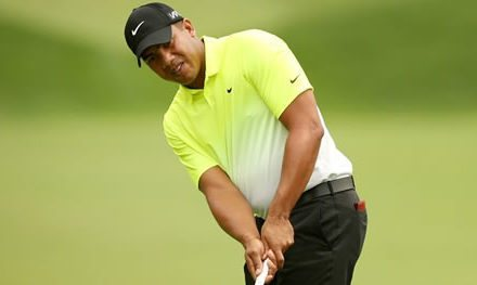 Jhonny Vegas co-líder de The Greenbrier Classic busca cupo en el 144º The Open