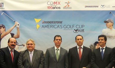 Se lanzó la Bridgestone America's Golf Cup presentado por Value en la Ciudad de México