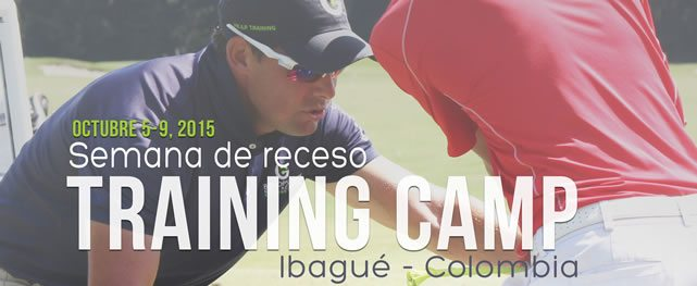Semana de receso Training Camp Bishops Gate Golf Academy, Club Campestre de Ibague octubre 5-9, 2015