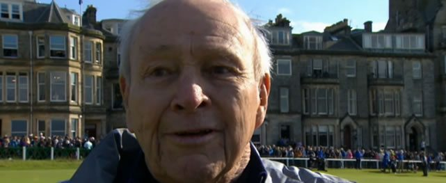 Video de Arnold Palmer sentimental hablando sobre St Andrews