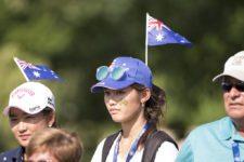 Público en el 70º US Women's Open en Lancaster CC (cortesía USGA)