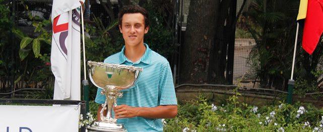 Alejandro Restrepo es el  nuevo campeón nacional amateur de golf