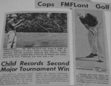 Child: El Marino Golfista