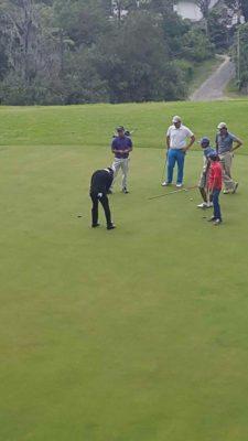 El Junko fue testigo del primer Campamento de Golf para Menores