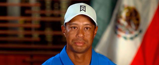 Tiger reconfirma su presencia en México para la Bridgestone America's Golf Cup presentado por Value