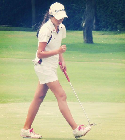 Valentina Gilly la triple Campeona Nacional Juvenil