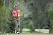 QUITO, ECUADOR - SEP. 9, 2015 - Rodolfo Cazaubón de México en acción durante el Pro-Am del All You Need Is Ecuador Open que se jugó este miércoles en el Quito Tenis y Golf Club en Quito, Ecuador. (Enrique Berardi/PGA TOUR)