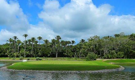 ¡El campo de golf Litibú se volvió un reto para los golfistas profesionales en el primer día del torneo del México Golf Tour!