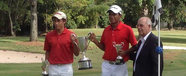 Julio y Luis Martínez ganaron Campeonato Nacional de Dobles