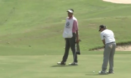 Video, Luis Itriago brilla con Putt de PGA TOUR en el 18