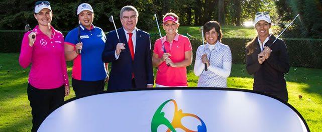 Sueño de golf Olímpico femenino para Río 2016