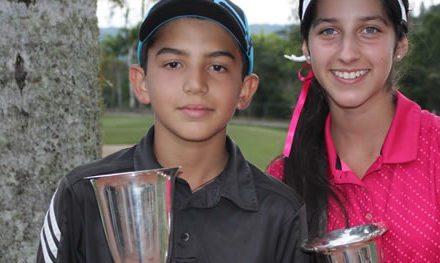 Vanessa Gilly y Eduardo Yépez Campeones Nacionales en Infantil