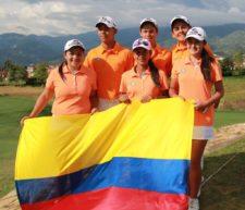 Equipo Colombia de Damas Campeonas Sudamericanas Prejuvenil (cortesía Fedegolf)