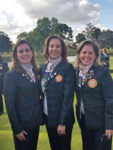 Hermanas Cruz de 3 clubes (Guaymaral-CC de Bogotá-Campestre de Cali), Ana Isabel y Ángela, con los primeros lugares de4tay2dacategoría.