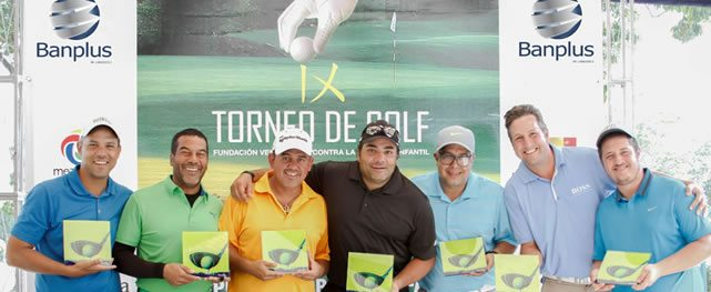 Con éxito se celebró el IX Torneo de Golf Copa Banplus a beneficio del Hospital Ortopédico Infantil