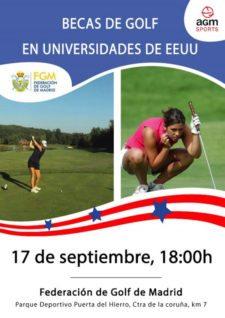 Golf español está de moda en las universidades norteamericanas