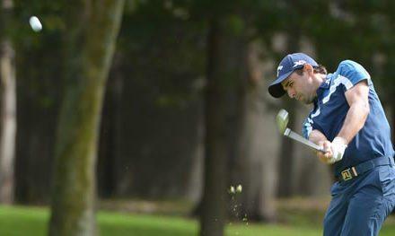 Intensa batalla por liderato de la Bridgestone America's Golf Cup