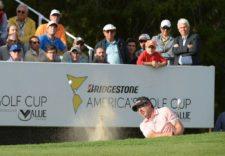Marco Ruiz (PAR) durante la tercera ronda de la Bridgestone America´s Golf Cup presentado por Value / Gentileza: Enrique Berardi/PGA TOUR