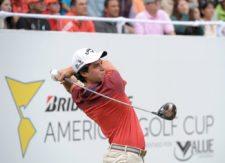 Sebastián Vázquez (MEX) durante la tercera ronda de la Bridgestone America´s Golf Cup presentado por Value / Gentileza: Enrique Berardi/PGA TOUR