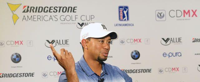 Se lanzó con Tiger Woods la Bridgestone America's Golf Cup presentado por Value