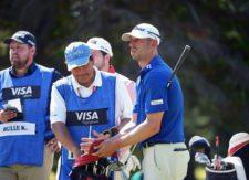 Danny Balin (USA), uno de los líderes del 110° VISA Open de Argentina presentado por OSDE / Gentileza: Enrique Berardi/PGA TOUR