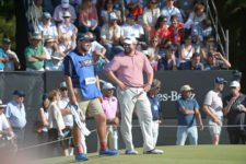 Kent Bulle (USA), uno de los líderes del 110° VISA Open de Argentina presentado por OSDE / Gentileza: Enrique Berardi/PGA TOUR