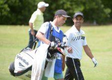 Rafael Echenique (ARG) hizo la mejor vuelta del día y se acerca a la punta / Gentileza: Enrique Berardi/PGA TOUR