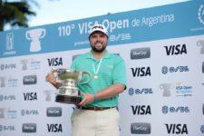 Kent Bulle (USA), ganador del 110° VISA Open de Argentina presentado por OSDE / Gentileza: Enrique Berardi/PGA TOUR