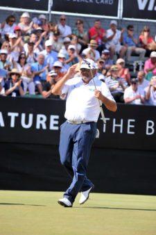 Ángel Cabrera, terminó con la frente en alto en este 110° VISA Open de Argentina presentado por OSDE / Gentileza: Enrique Berardi/PGA TOUR