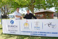 abio Rossi, CEO de Zurich Argentina, junto a Jack Warfield, Presidente del PGA TOUR Latinoamérica / Gentileza: Enrique Berardi/PGA TOUR