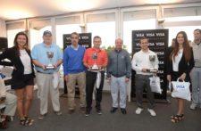 El equipo FiberCorp, ganador del Pro-Am con 58 golpes / Gentileza: Enrique Berardi/PGA TOUR