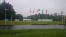 La lluvia fue protagonista en la primera ronda del Personal Classic presentado por NEC
