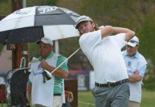 Evan Harmeling (USA), puntero provisorio en Praderas / Gentileza: Enrique Berardi/PGA TOUR