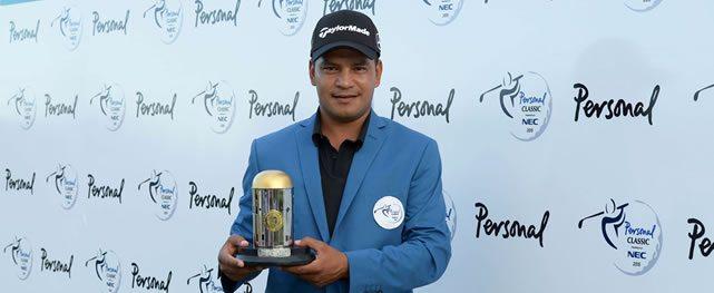 Fabián Gómez y su sana costumbre de ganar el Personal Classic presentado por NEC