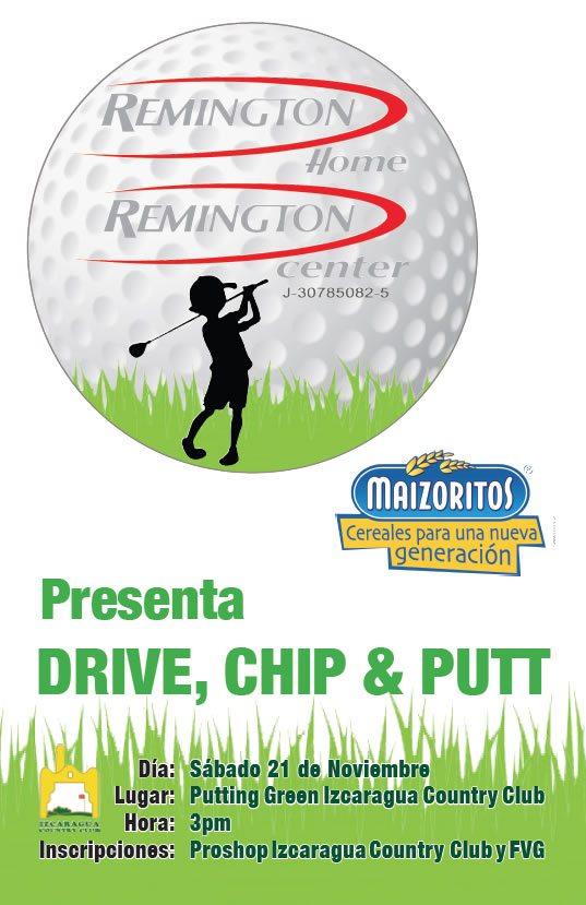 Invitación Drive Chip & Putt - Sábado 21 de Noviembre 2015