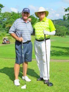 Robin Morland y Kevin Bradley