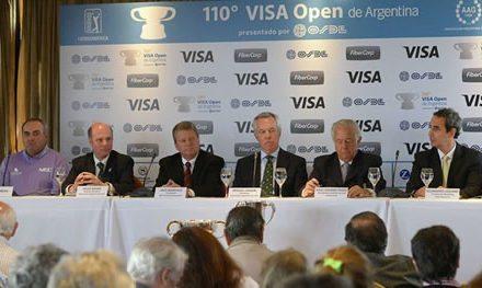Se lanzó el 110° VISA Open de Argentina presentado por OSDE