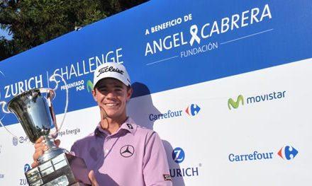 Fernández Valdés ganó el Zurich Challenge presentado por movistar