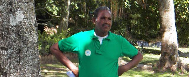 José Anacleto comenzó de caddie y hoy es profesor del Caracas Country Club