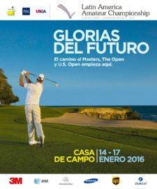 Poster del Latin America Amateur Championship 2016