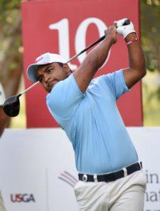 Juan Álvarez (URU), durante la ronda de práctica del miércoles en Casa de Campo, República Dominicana / Gentileza: Enrique Berardi/PGA TOUR