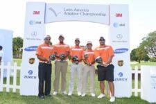 Los jugadores dominicanos listos para el Latin America Amateur Championship 2016 en Casa de Campo / Gentileza Enrique Berardi/LAAC