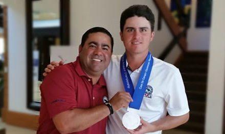 """Venezolano Jorge """"Pichu"""" García Subcampeón Latinoamericano"""
