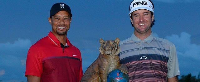 Bubba Watson jugará con Tiger Woods en México la Bridgestone America's Golf Cup
