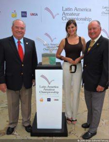 Gilberto Arosemena (Club de Golf de Panamá) y Jorge Loaiza (Apagolf)